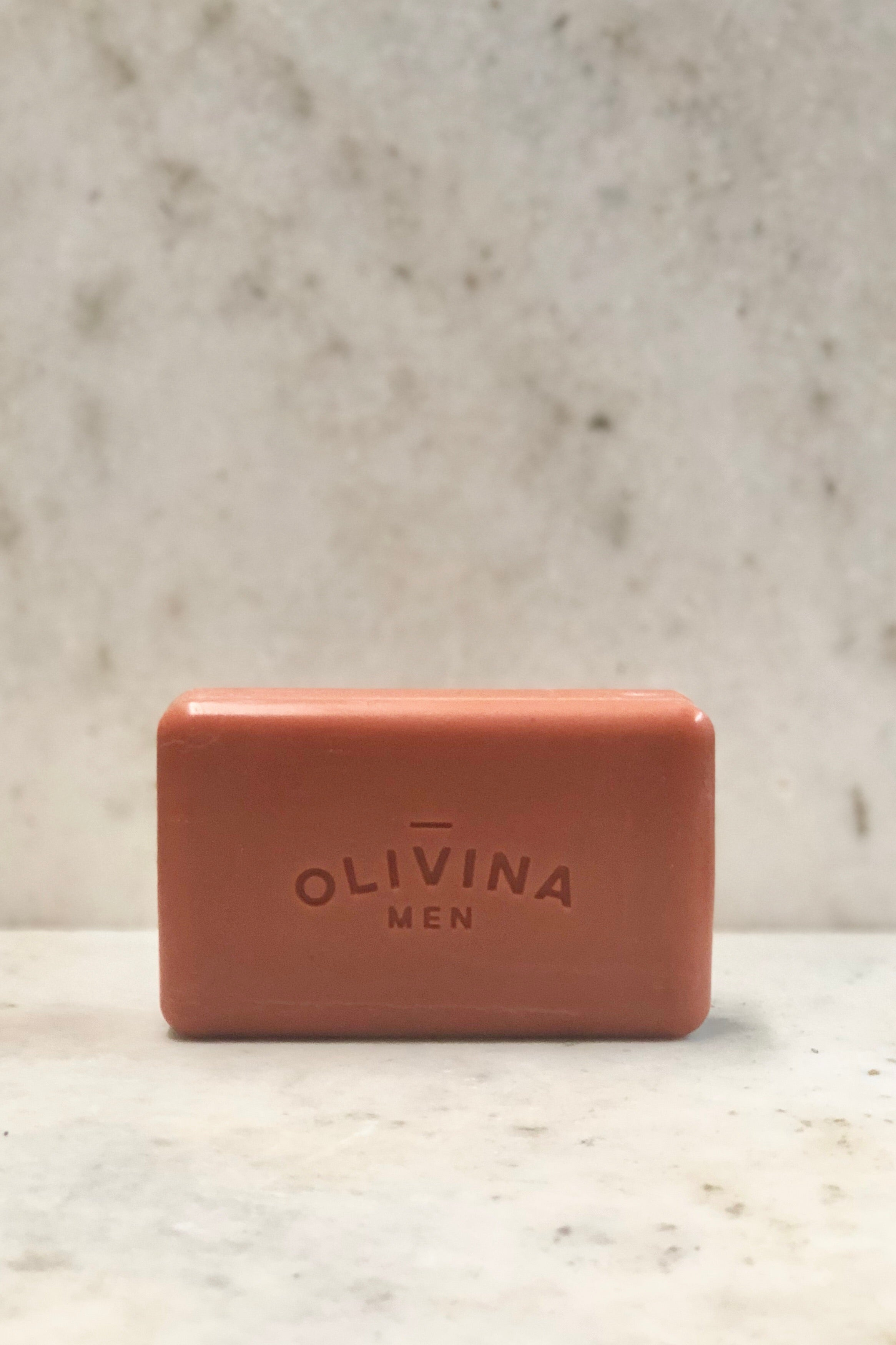 Olivina Men Exfoliating Bar Soap