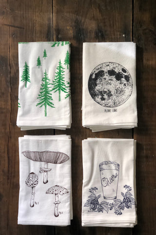 Hand-Printed Cloth Napkins