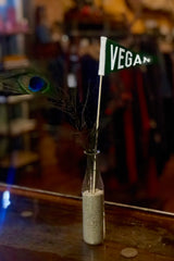 Micro Mini Pennant-Vegan