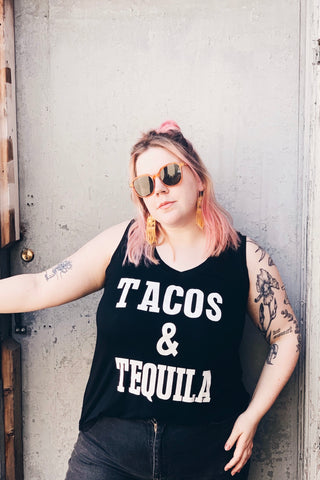 """Tacos & Tequila"" Tank"