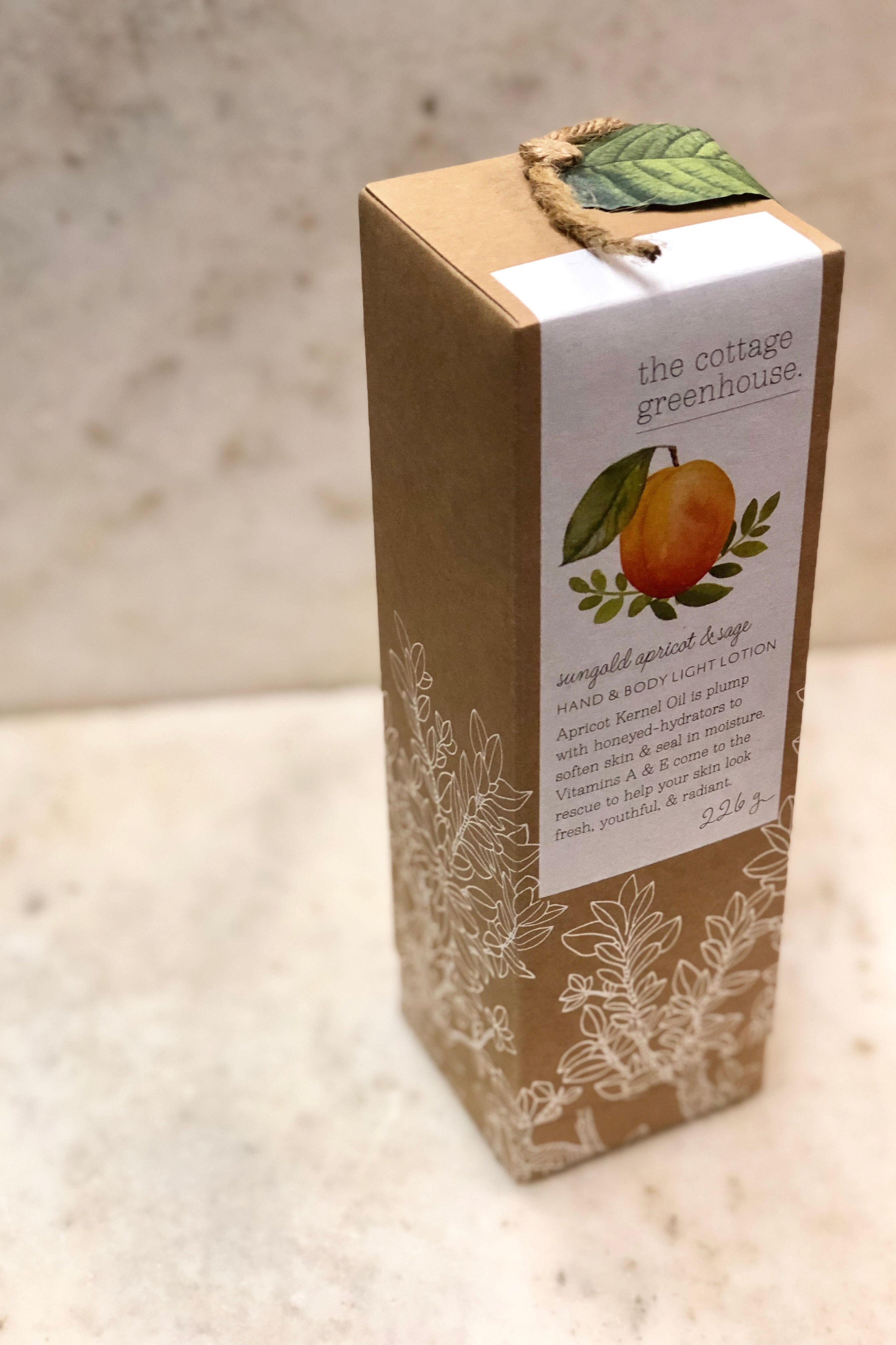 Sungold Apricot & Sage Body Lotion