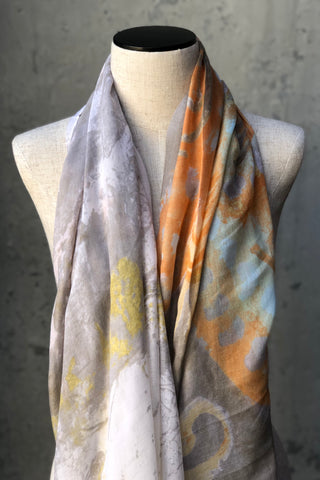 Butterfly Watercolor Scarf