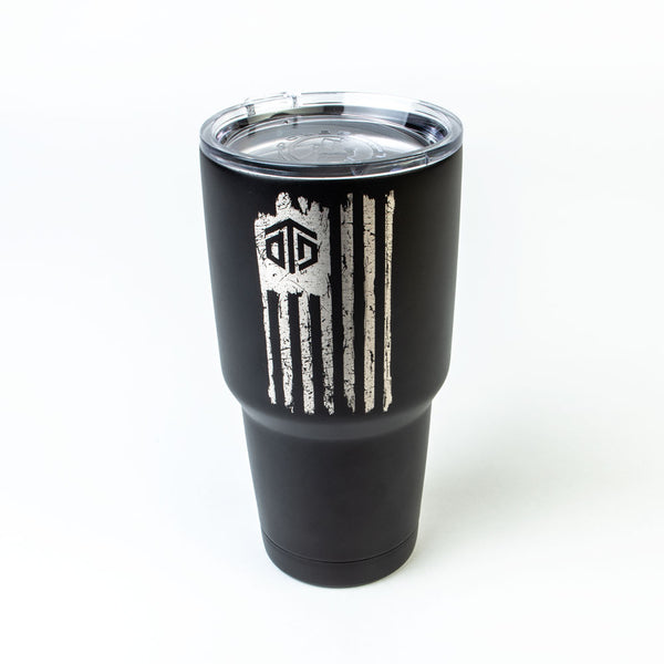 OTD Flag (Distressed) Tumbler