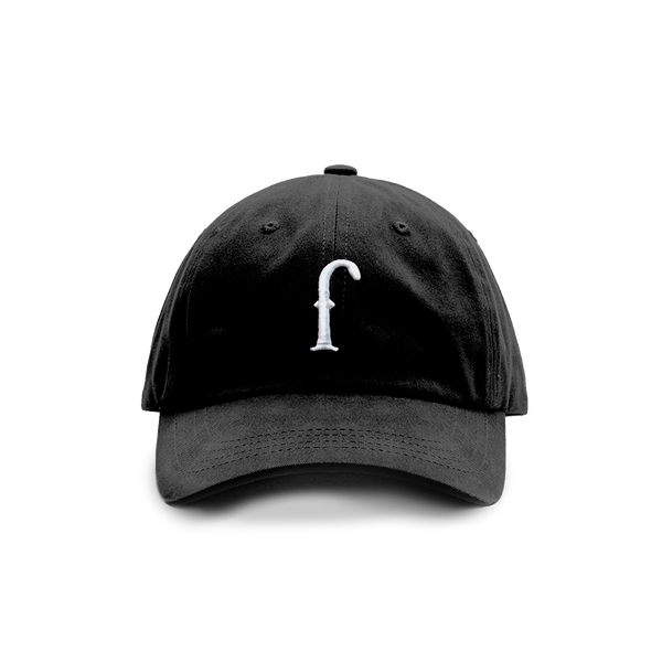 "Classic ""f"" Mom/Dad Cap (Black)"