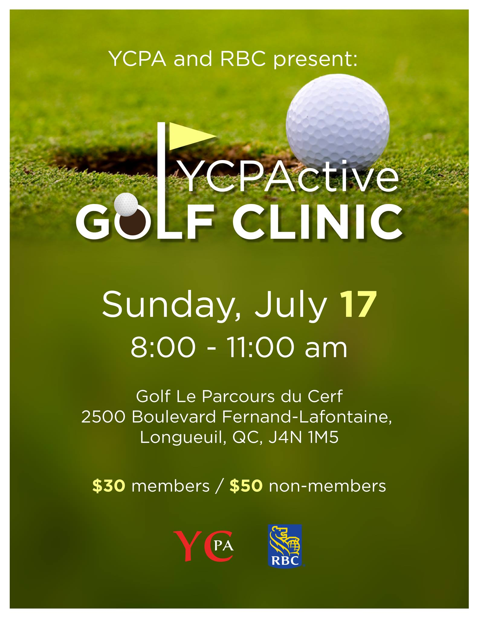 YCPActive Golf Clinic