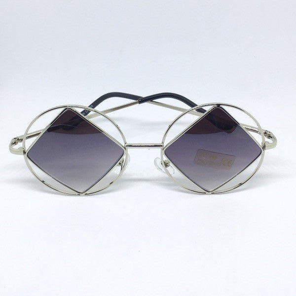 Geometric Sunglasses - ShopFAH Boutique