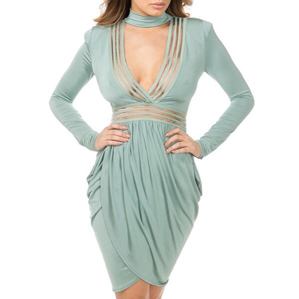 Grecian Goddess mini dress
