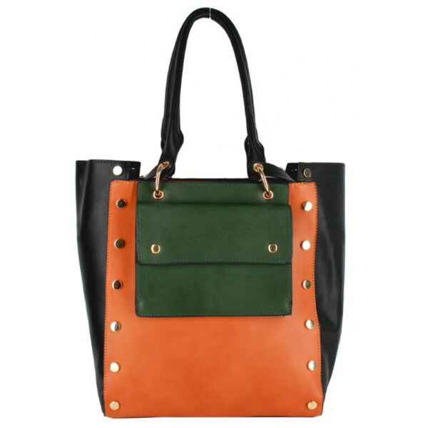 Studded Tote Bag - ShopFAH Boutique