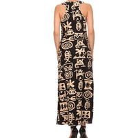 Tribal Print Maxi Dress - ShopFAH Boutique