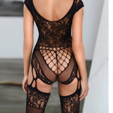 Sexy lingerie lace bodystocking