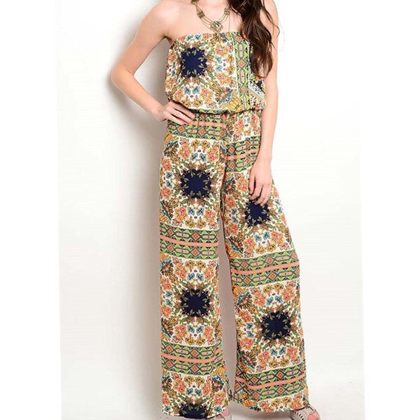 MultiColor Jumpsuit - ShopFAH Boutique