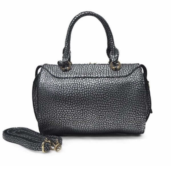 Dotted Handbag in black