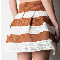 High Waist Pleated Skater Skirt - ShopFAH Boutique