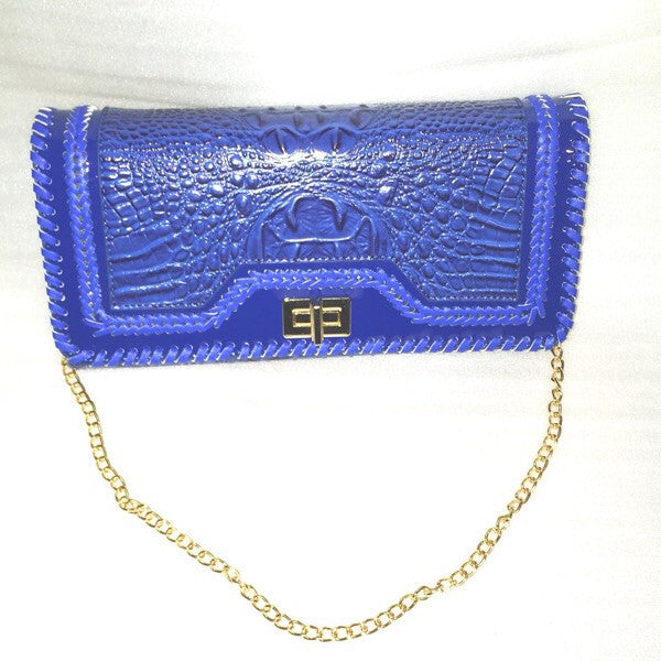 Embossed Clutch - ShopFAH Boutique