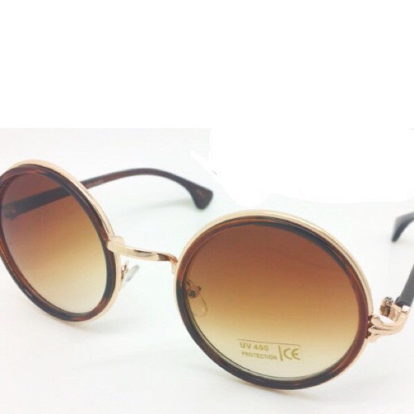 Classic Round Frame Sunglasses - ShopFAH Boutique
