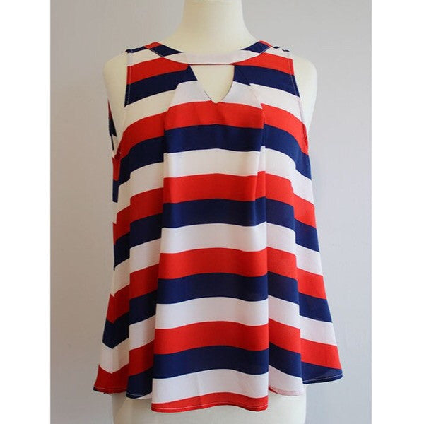 Stripe Tank - ShopFAH Boutique