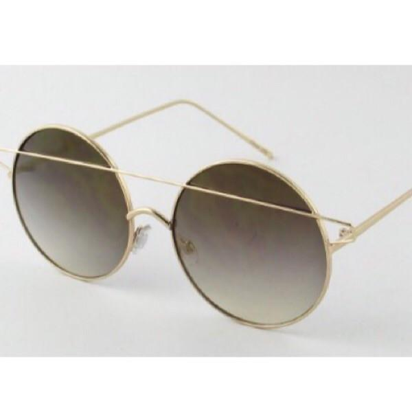 Circle Cross Brow Sunglasses - ShopFAH Boutique