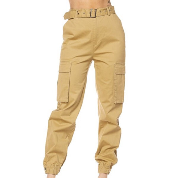 a52847e136 Belted Cargo Pants