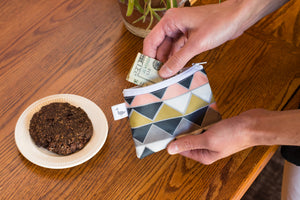 Playful Crows Coin Purse