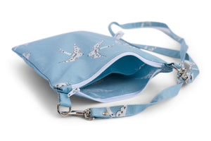 Small Crossbody Bag Inside Divider Pocket