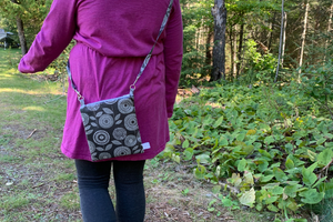 Water Resistant Small Cross Body Bag