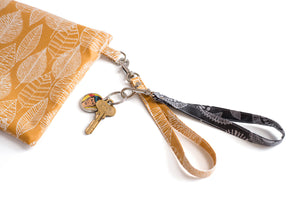Wrist Strap for Clutch/Wristlet & Keychain
