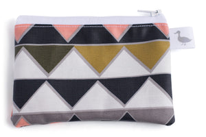 Coin & Change Purse, Women's Wallet - Geometric Print