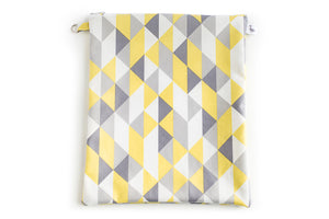 Large Wet Bag - Geometric Fabric