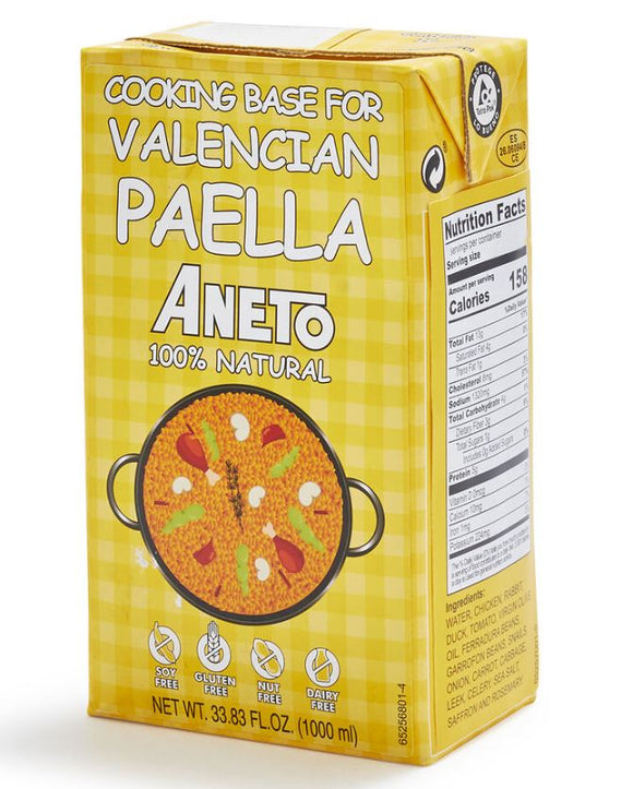 ANETO Valencian Paella Cooking base