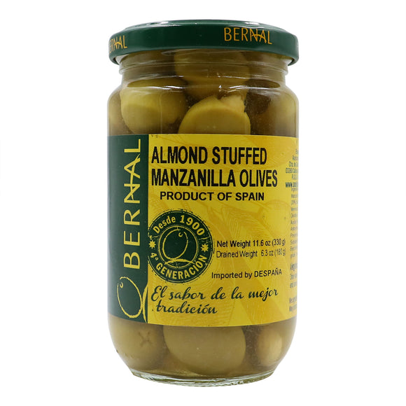BERNAL Almond Stuffed Manzanilla Olives