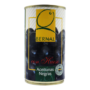BERNAL Black Olives with Pit