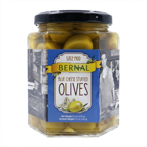 BERNAL Blue Cheese Stuffed Olives