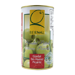 BERNAL Gordal Pitted Spicy Olives