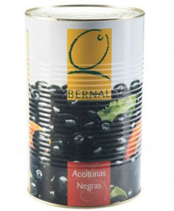 BERNAL Black Pitted Olives