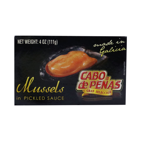 CABO DE PEÑAS Mussels in Pickled Sauce
