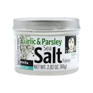 CARMENCITA Garlic & Parsley Sea Salt Flakes