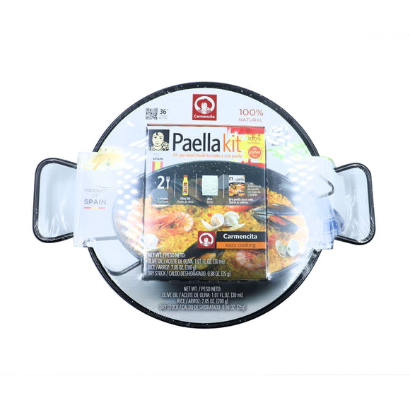 CARMENCITA Paella Kit & Pan