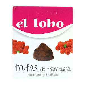 EL LOBO Chocolate Truffles with Raspberry