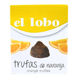 EL LOBO Chocolate Truffles with Orange