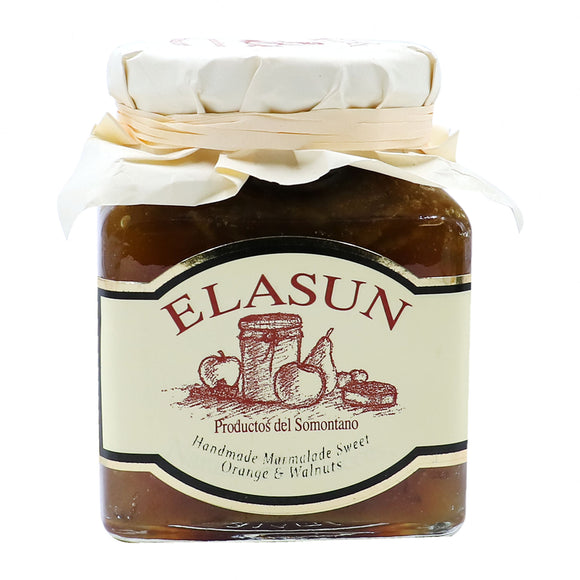 ELASUN Sweet Orange & Walnuts Handmade Marmalade