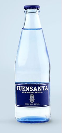 Fuensanta Natural Water 33cl (11.16oz) - <span style=