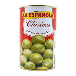 LA ESPAÑOLA Manzanilla Olives Stuffed with Anchovies