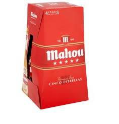 Mahou Beer 6pck - <span style=