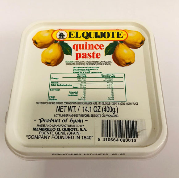 EL QUIJOTE Quince Paste Cream 400g