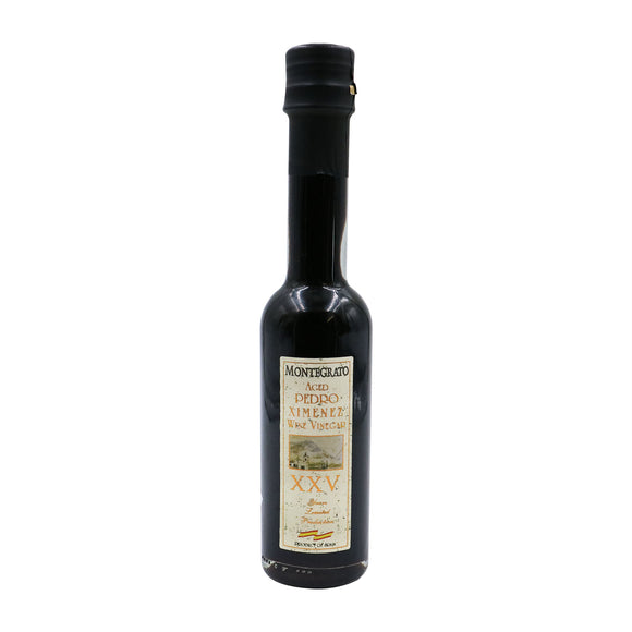 MONTEGRATO Aged Pedro Ximénez Sherry Wine Vinegar 25 Years