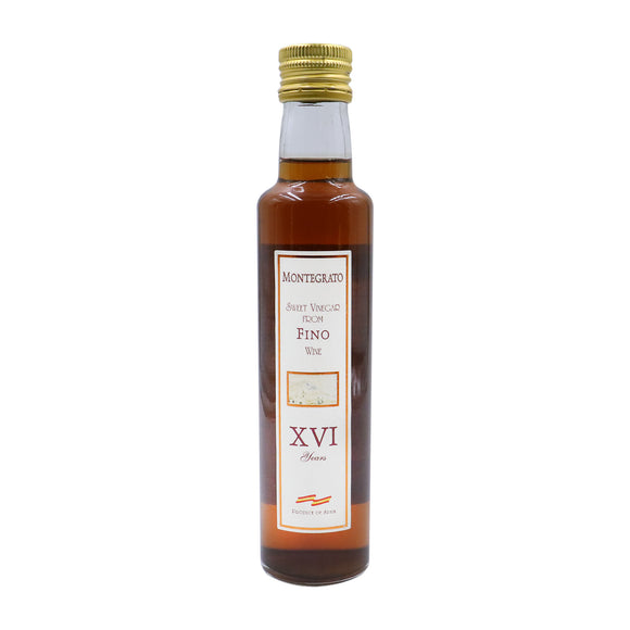 MONTEGRATO Fino Sherry Vinegar 16 Years
