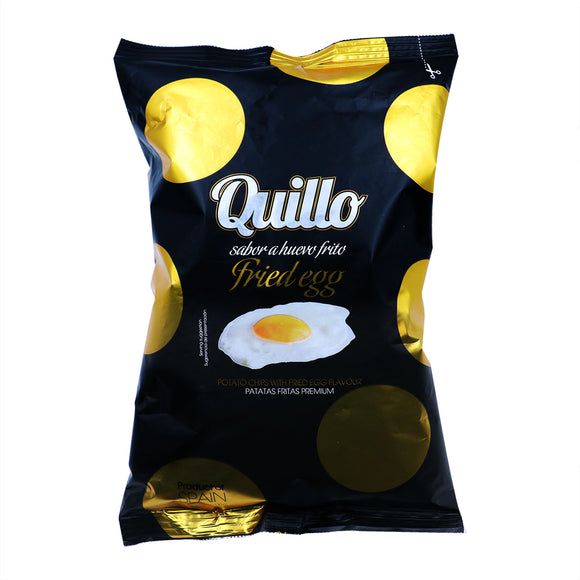 QUILLO Potato Chips with Fried Egg Flavor