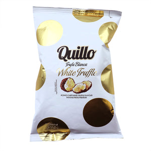 QUILLO Potato Chips with White Truffle Flavor