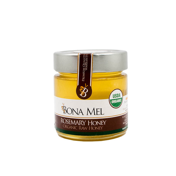 BONA MEL Rosemary Honey (Organic Raw)