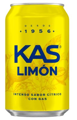 KAS Limon Soda (8 Pack) <span style=